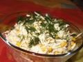 Салат из сельдерея с кукурузой
