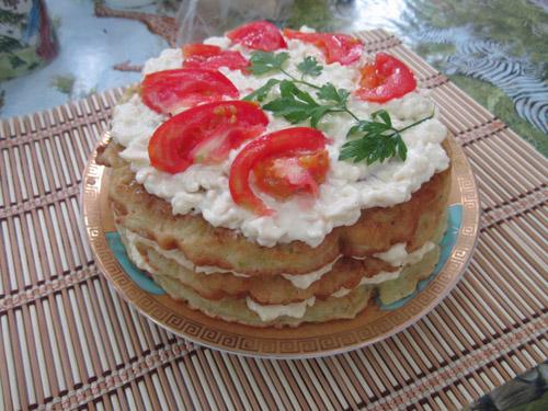 торт кабачковый фото
