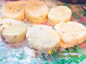 Как приготовить творожные сырники шаг 2