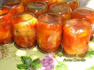 Как приготовить салат из болгарского перца - шаг 2