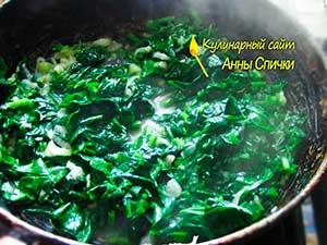 Как приготовить запеканку из кабачков со шпинатом - шаг 2