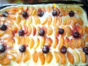 Как приготовить открытый пирог - шаг 3
