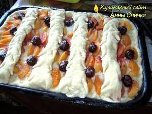 Как приготовить открытый пирог - шаг 4