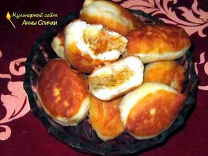 Пирожки с квашенной капустой