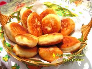 Пирожки с картошкой рецепт