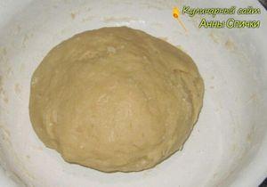 Делаем тесто для печенья