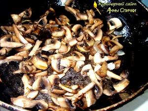 Как приготовить яичницу с грибами - Шаг 1