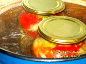 Стерилизация салата