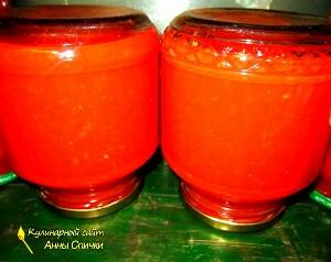 Как приготовить томатный сок - шаг 2