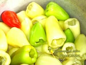 Как мариновать перец
