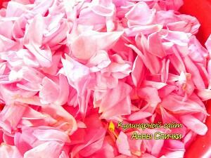 Как приготовить варенье из  роз