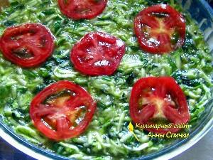 Как приготовить запеканку из кабачков со шпинатом - шаг 3