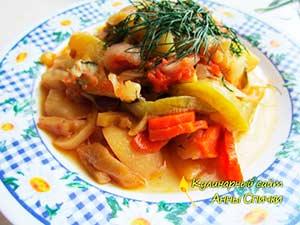 Как приготовить овощное рагу - шаг 3