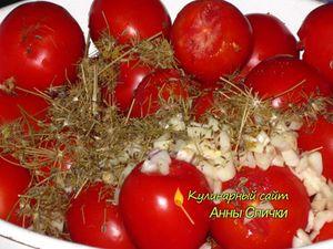 Как приготовить соленые помидоры с чесноком