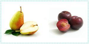 Сливовый компот с грушами