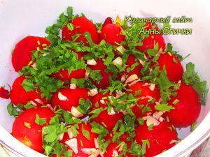 Как приготовить помидоры маринованные - шаг 3