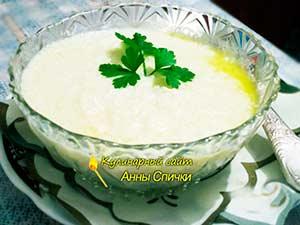 Как варить суп-пюре из цветной капусты