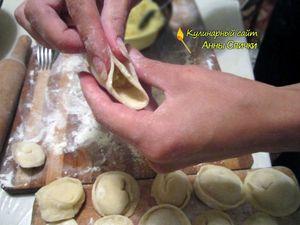 Как приготовить вегетарианские пельмени