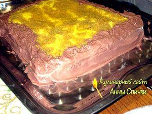 Начинаем собирать торт