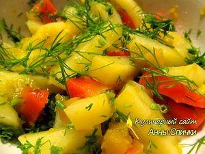 Картофель в микроволновке - шаг 2