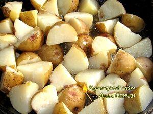 Как приготовить молодой картофель по деревенски