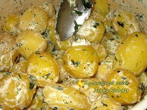 Как приготовить картофель со сметаной