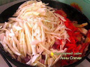 Как жарить картошку с капустой - шаг 2