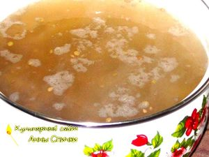 Как приготовить суп из чечевицы