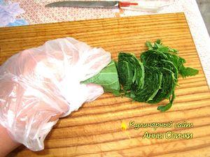 Как приготовить зеленый борщ - шаг 3