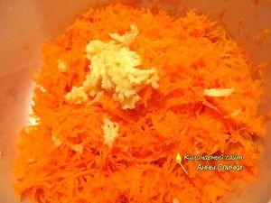 Как приготовить салат из моркови с чесноком