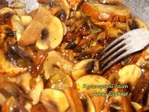 Как приготовить тушеную капусту с грибами