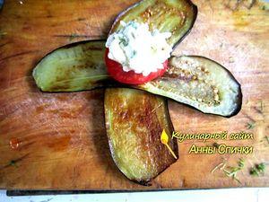 Как приготовить баклажаны с сыром  шаг 3