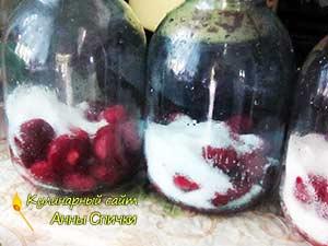 Как приготовить компот из клубники
