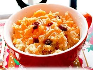 Как приготовить тыквенную кашу с рисом