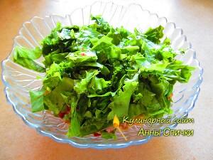 Как приготовить тайский салат - шаг 2