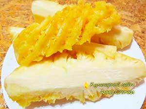 Как правильно чистить ананас