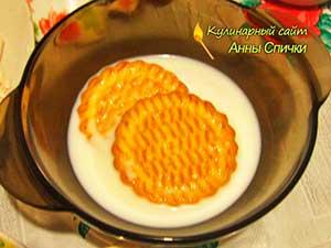 Как сделать пирожное из печенья