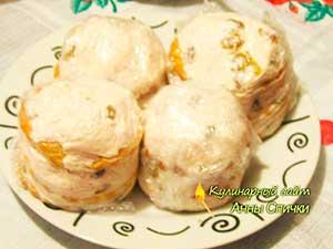 Как сделать пирожное из печенья - шаг3