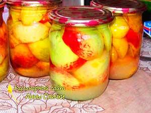 Как приготовить персики в сиропе