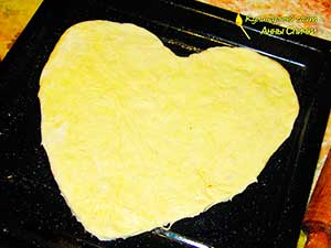 Как приготовить пиццу сердцем