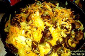 Как приготовить плов с грибами шиитаке