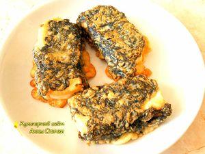 Как приготовить вегетарианскую рыбу - шаг 4
