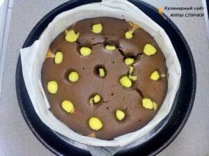 Как приготовить торт с творожными шариками внутри