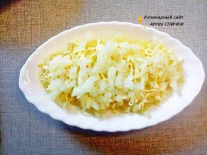 Овощная шуба без селедки