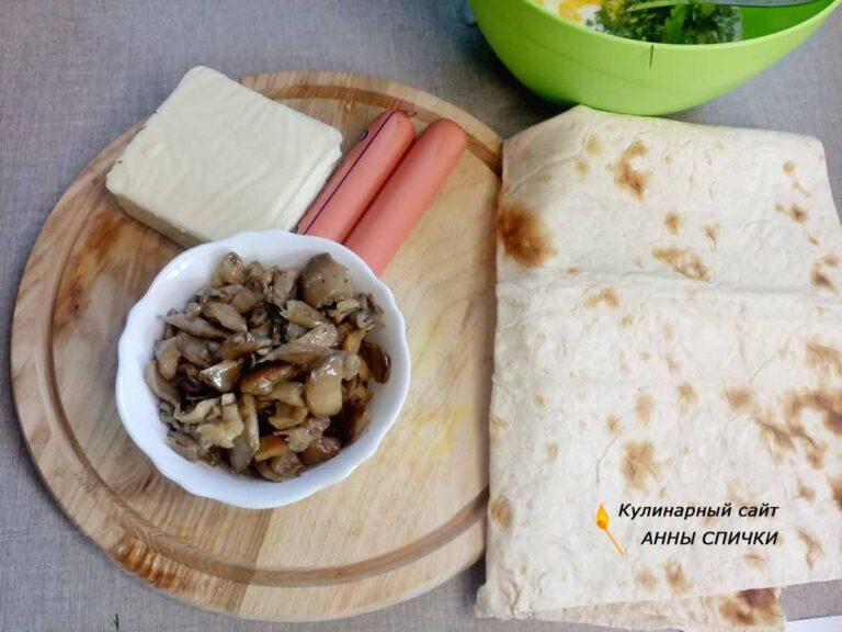 Как приготовить рваный пирог из лаваша
