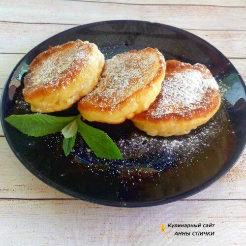 Вкусные оладьи на кефире без сахара