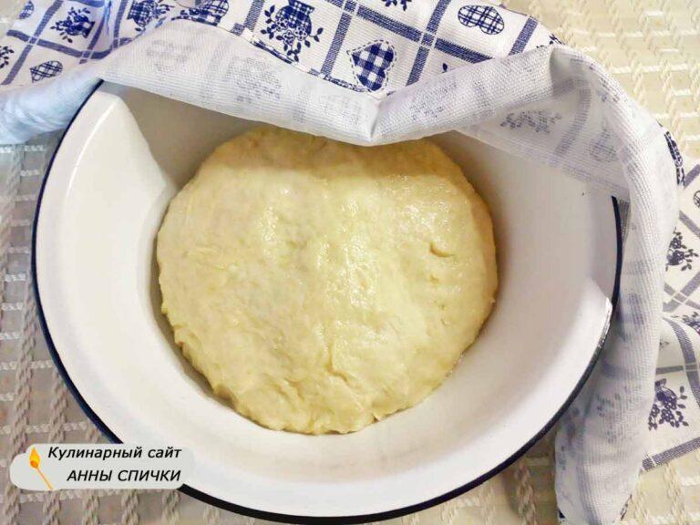 Пирожки с вишней дрожжевое тесто
