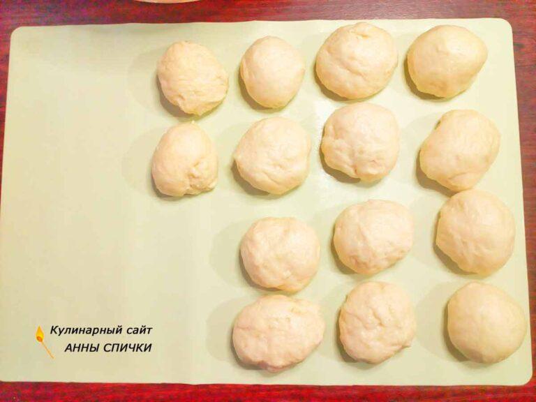Пирожки с вишней духовые