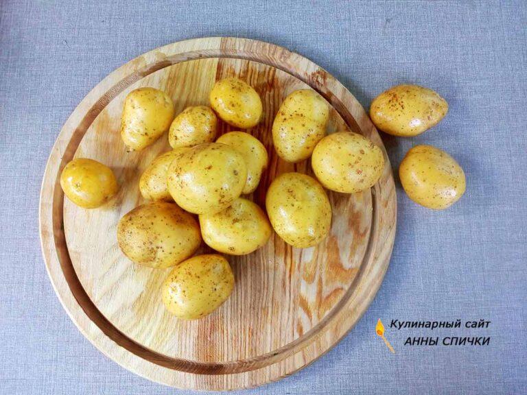Как приготовить молодую картошку с укропом