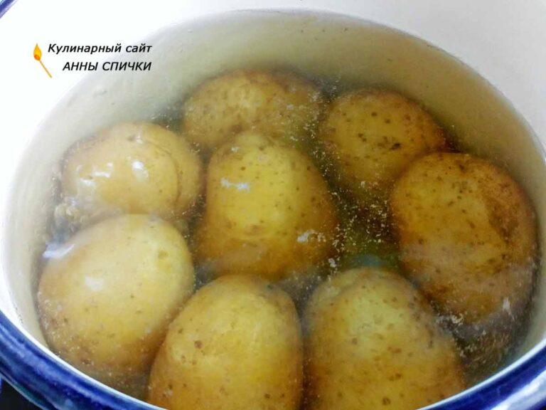 что приготовить из вареной картошки